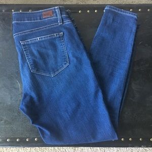 Size 31 Paige verdugo ankle skinny jeans
